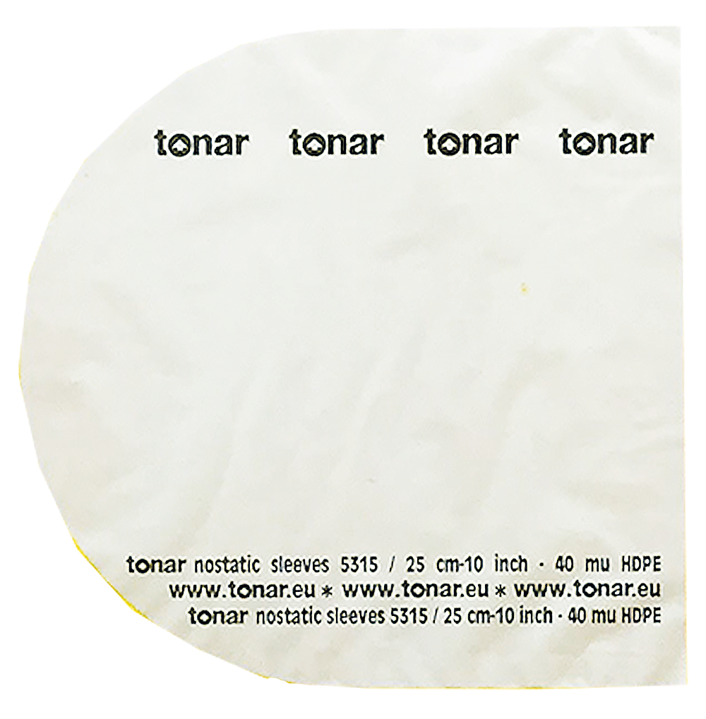 Tonar Nostatic sleeves for 10 inch