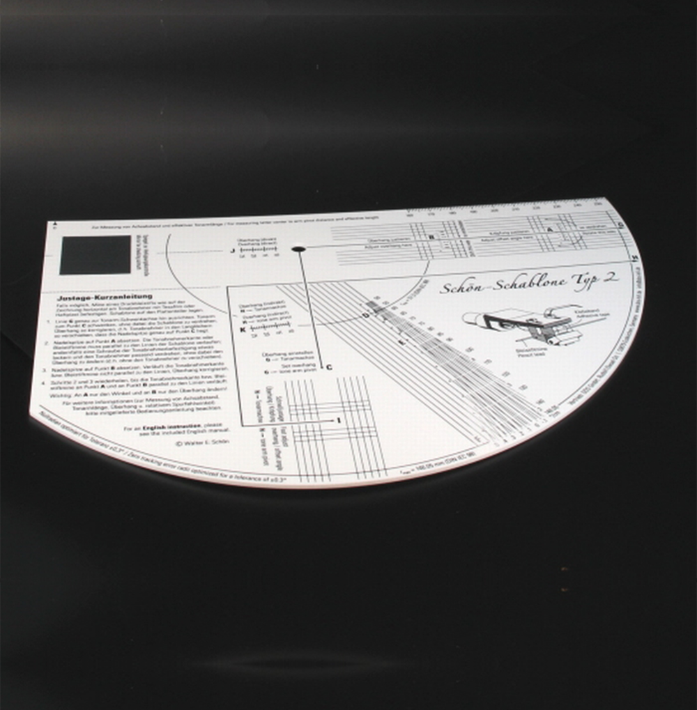Tonar Tone arm alignment gauge